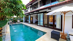 3 bedroom pool villas seminyak