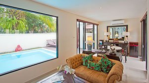 1 bedroom pool villas seminyak