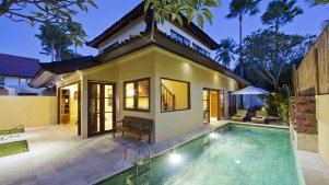 2 bedroom pool villas seminyak
